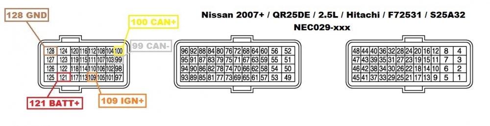 5a83b76d7d563_NissanNEC029-xxx2007QR25DE2.5LHitachiF72531S25A32Pinout.thumb.jpg.119d4ab7cb6bb6f9436ca39c67223ea4.jpg
